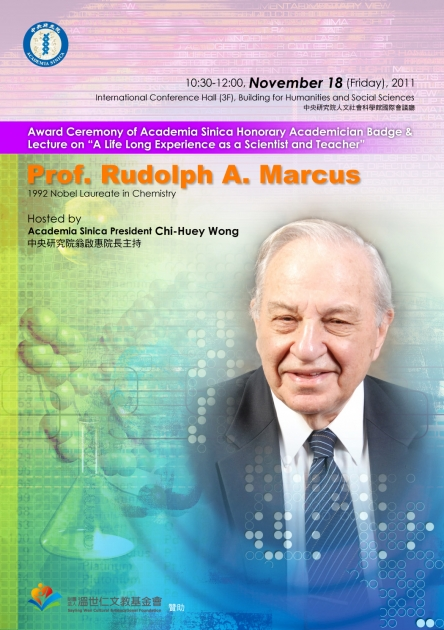 Prof. Rudolph A. Marcus